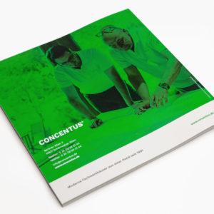 Concentus Fachwerkhaus Imagebroschuere Baubeschreibung Druckerei Broschuere Katalog Layout 135