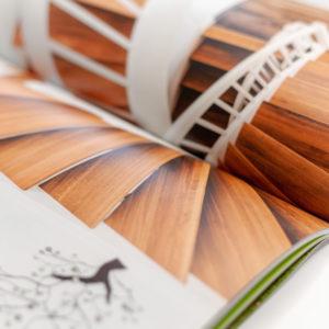 Concentus Fachwerkhaus Imagebroschuere Baubeschreibung Druckerei Broschuere Katalog Layout 142