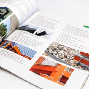 Concentus Fachwerkhaus Imagebroschuere Baubeschreibung Druckerei Broschuere Katalog Layout 163