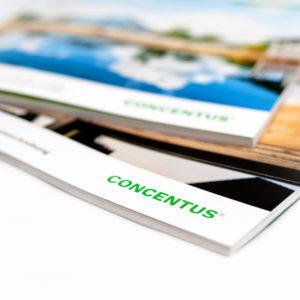 Concentus Fachwerkhaus Imagebroschuere Baubeschreibung Druckerei Broschuere Katalog Layout 182