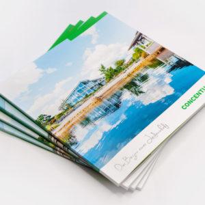 Concentus Fachwerkhaus Imagebroschuere Baubeschreibung Druckerei Broschuere Katalog Layout 212