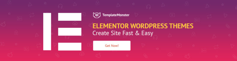 Elementor Themes WordPress Woocommerce Templatemonster