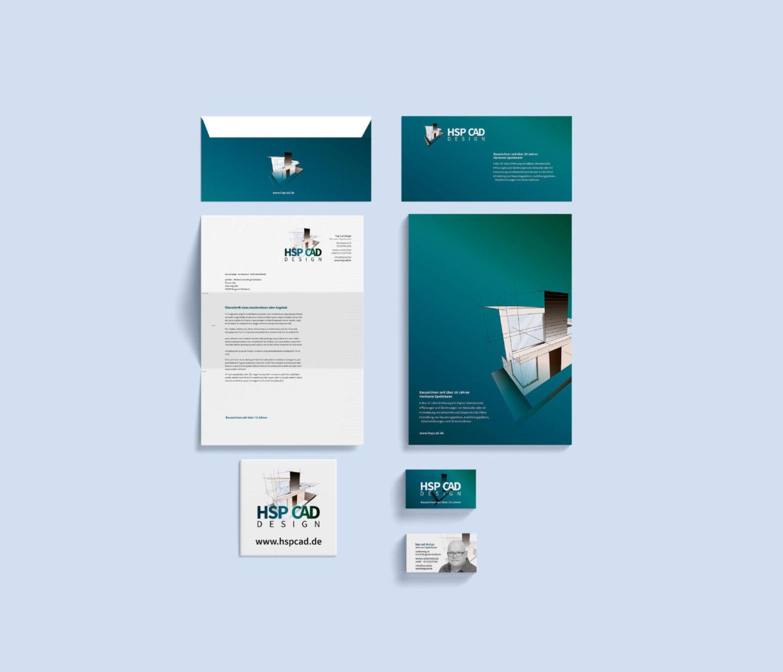Hsp Cad Referenz 2 Print Druck Visitenkarte Briefpapier Briefumchlag Cd Huelle