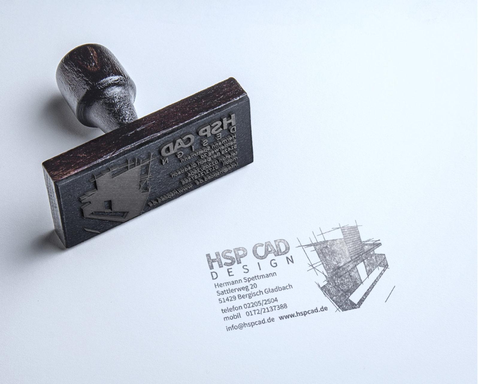 Hsp Cad Referenz 3 Print Druck Stempel Logogestaltung