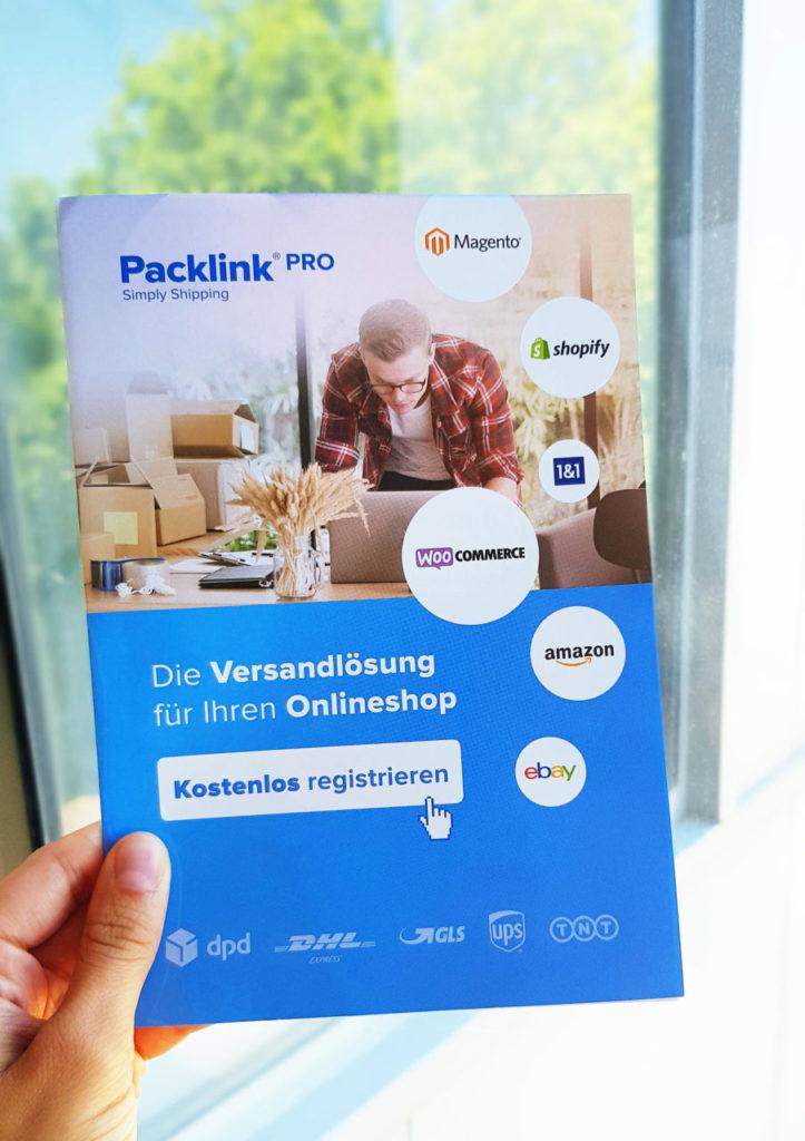 Packlink Pro Flyer Pictibe Versandkosten Sparen