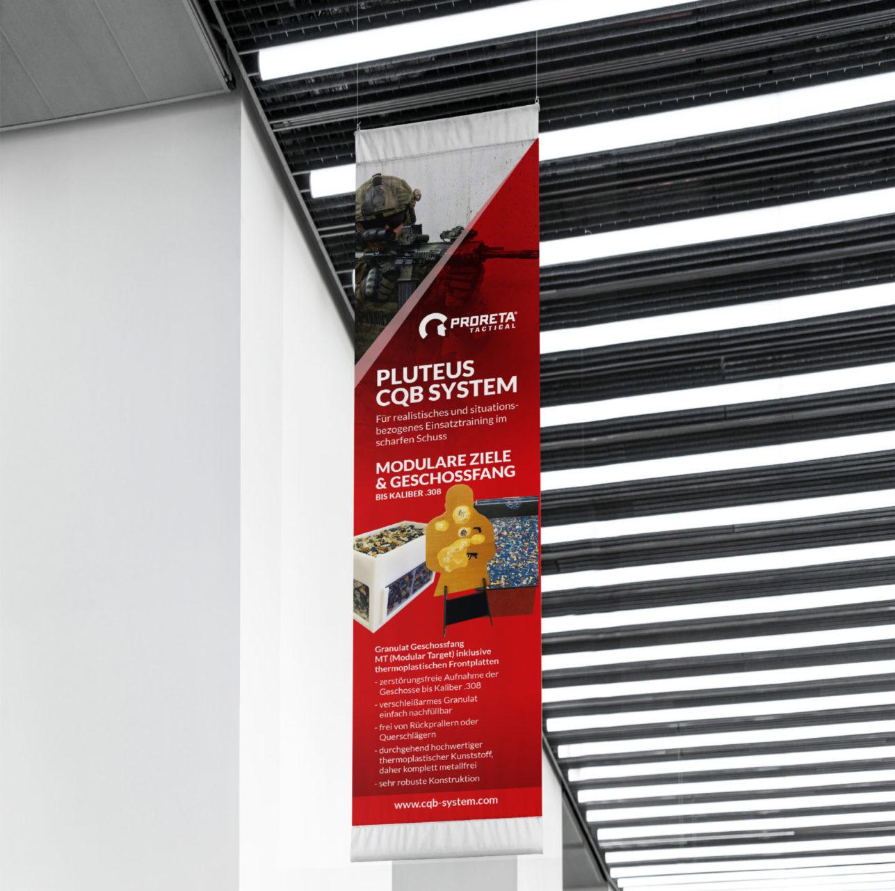 Proreta Referenz 2 Print Druck Banner Flage