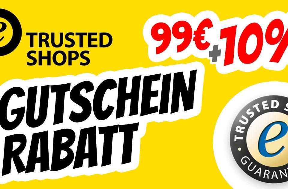 Trusted Shops Gutschein Gutscheincode Rabatt