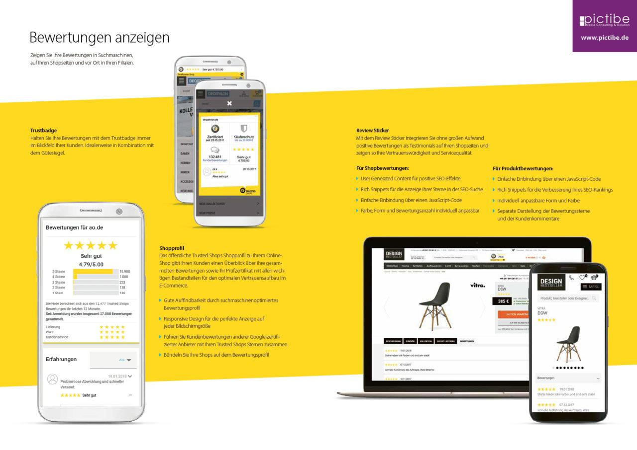 Trusted Shops Siegel Information Kaueferschutz Rechtstexter Bewertungen Onlineshop 12