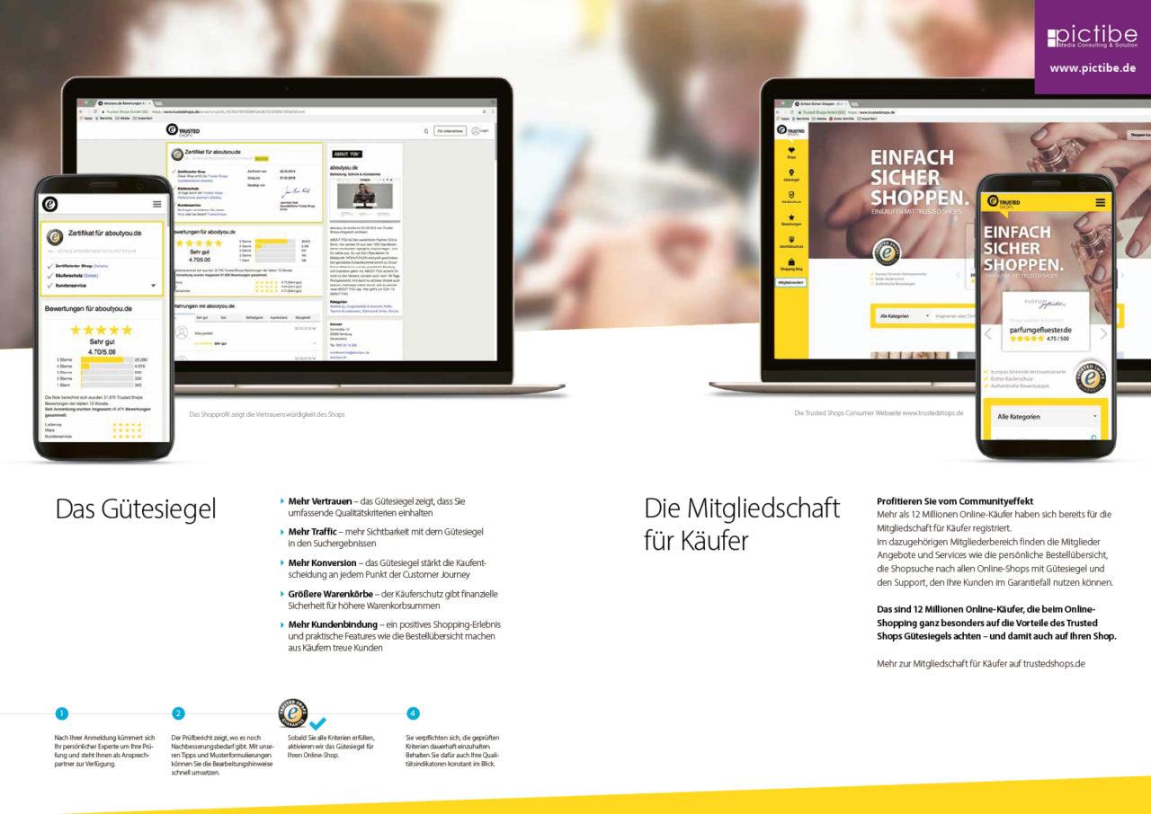 Trusted Shops Siegel Information Kaueferschutz Rechtstexter Bewertungen Onlineshop 6