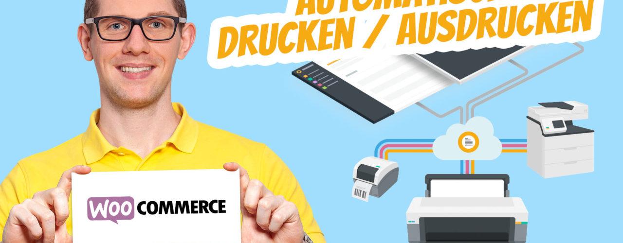 Woocommerce Bestellungen Automatisch Drucken Rechnungen Lieferscheine Belege Alternative Google Cloud Print