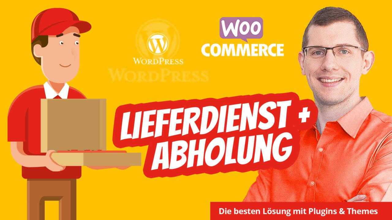 Woocommerce Lieferservice Pizza Restaurant Doener Sushi WordPress Lieferdienst Lieferung Plugin Theme