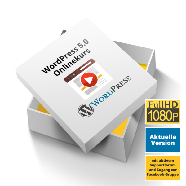 Wordpress Online Kurs