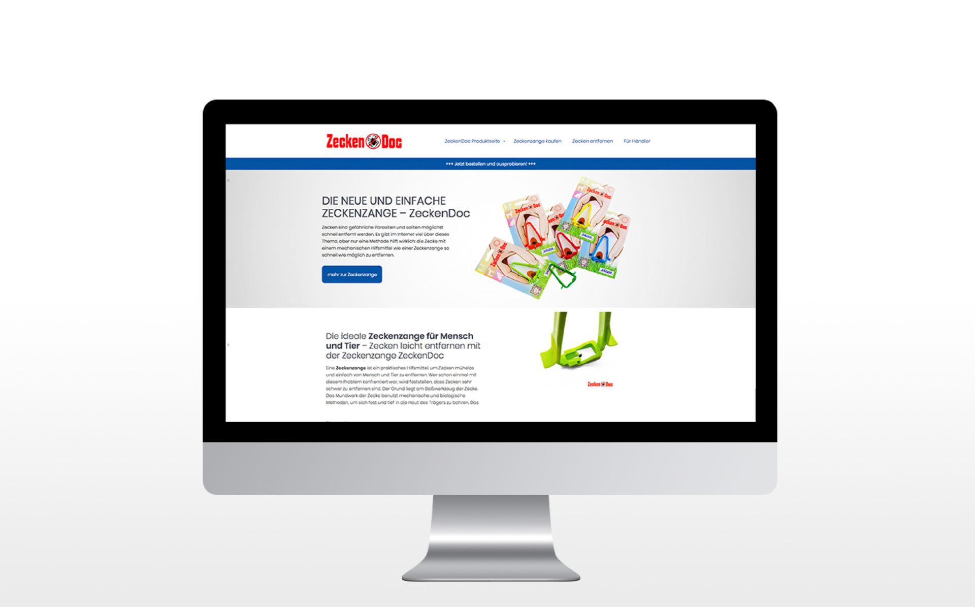 Zeckenzange Referenz 1 Webdesign
