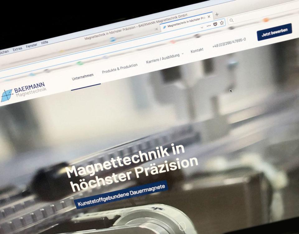 Baermann Magnettechnik Webdesign Online Marketing E Recruting Pictibe
