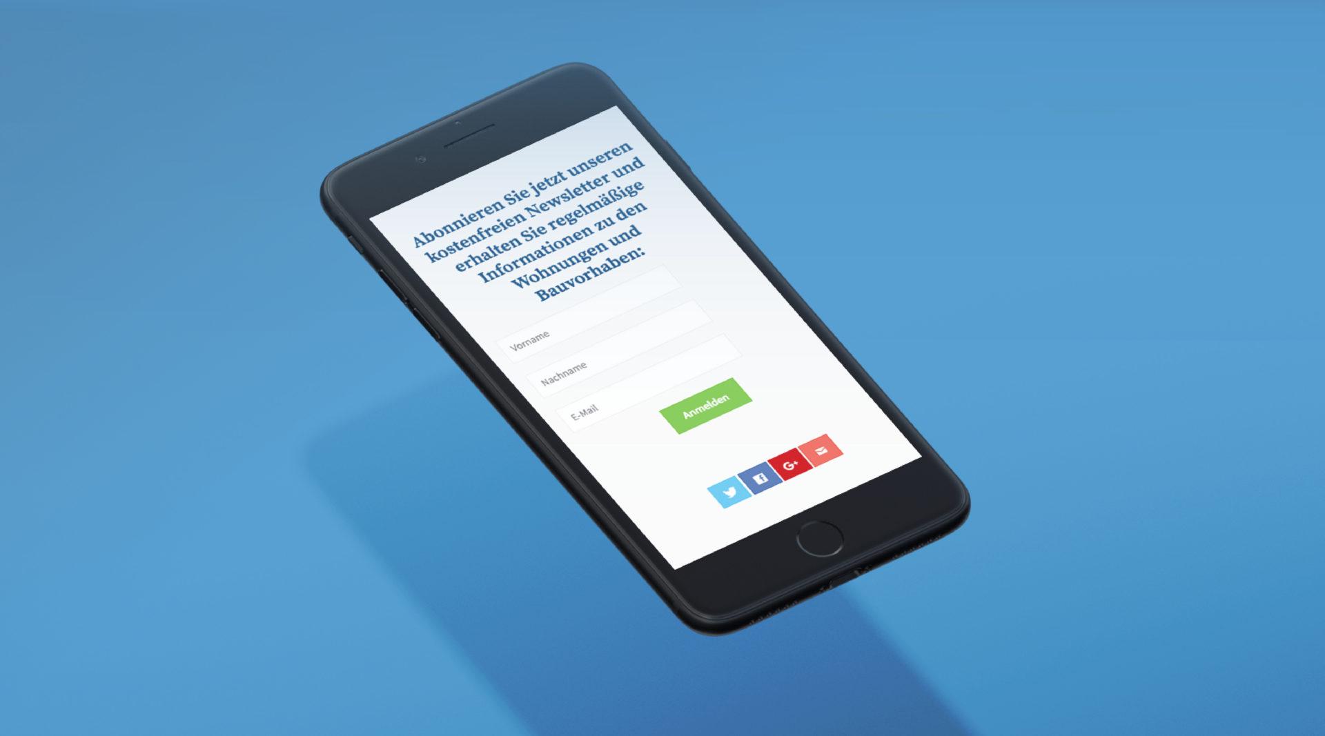 Bb Wohnbau Referenz 2 Responsive Mobile Webdesign