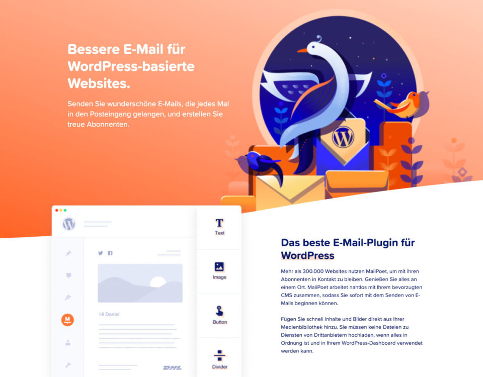 Beste Wordpress Newsletter Plugin Woocommerce Emailmarketing