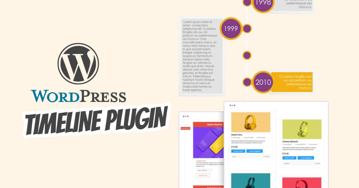 Beste Wordpress Timeline Plugin Zeitstrahl Historie History Story