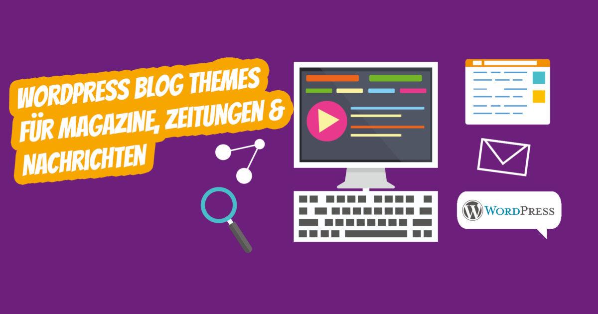 Besten Wordpress Blog Themes Magazine Zeitungen Nachrichten