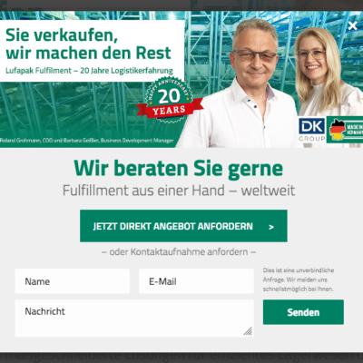 Exit Intent Popups Onlinemarketing Sales