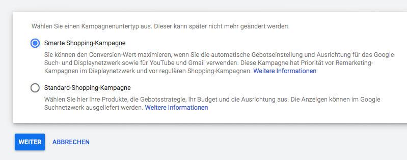 Google Adwords Ads Smart Shopping Gut Schlecht Erfahrung Test
