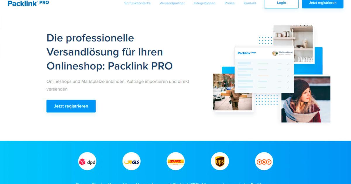 Guenstige Versandkosten Paketvergleich Billiger Versand Packlink Pro Onlineshop Online Handel