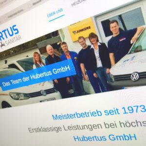 Hubertus Webdesign Responsiv Cms 2