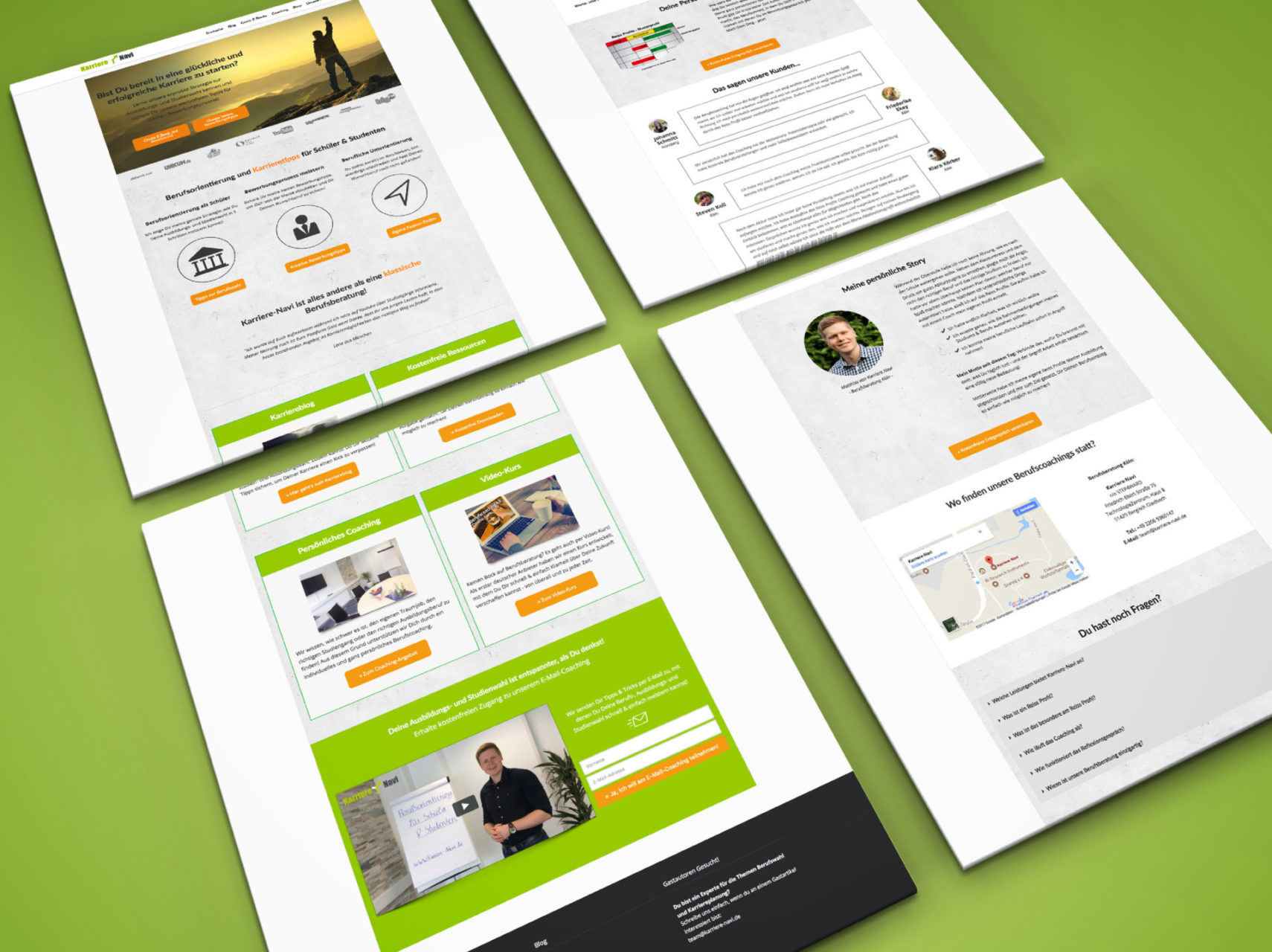 Karriere Navi Referenz 2 Webdesign