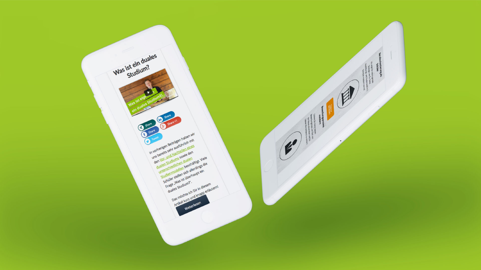 Karriere Navi Referenz 3. Mobile Responsive Webdesign. Mobile Responsive Webdesign