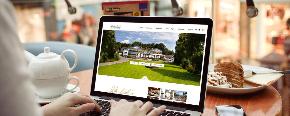 Luedenbach Referenz 1 Webdesign
