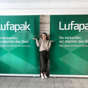 Lufapak Xxl Rollup Werbetechnik Druck Produktion Hersteller Roll Ups Xxl