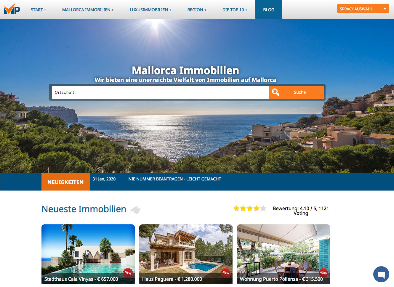 Mallorca Immobilien Properties Seo