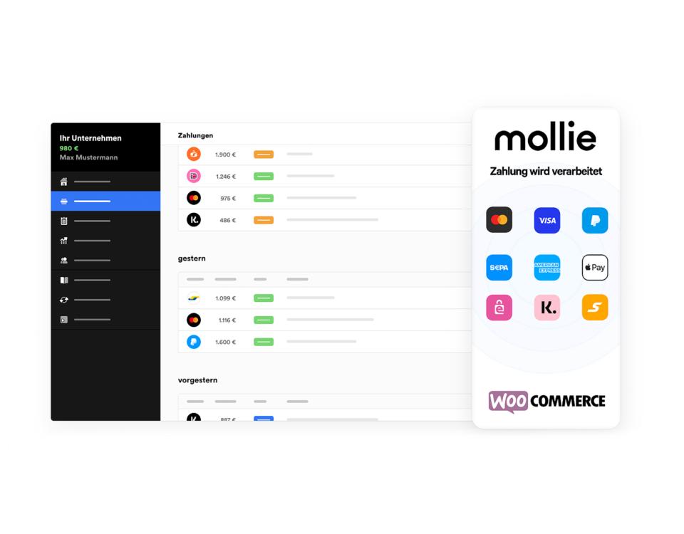 Mollie Zahlungssystem Zahlungsmethoden Woocommerce Wordpress Zahlungsanbieter Plugin