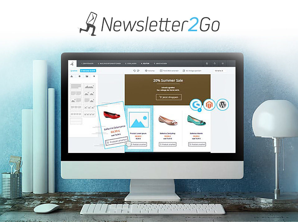 Newsletter Software Newsletter2go Email Marketing Agentur Nl2go