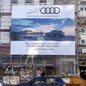 Plakatquadrat Aussenwerbung Plakatwerbung Werbeplakat Werbetafel Leuchtreklame Audi