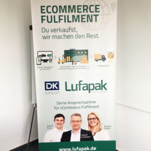 Rollup Ecommerce Fulfillment Lufapak