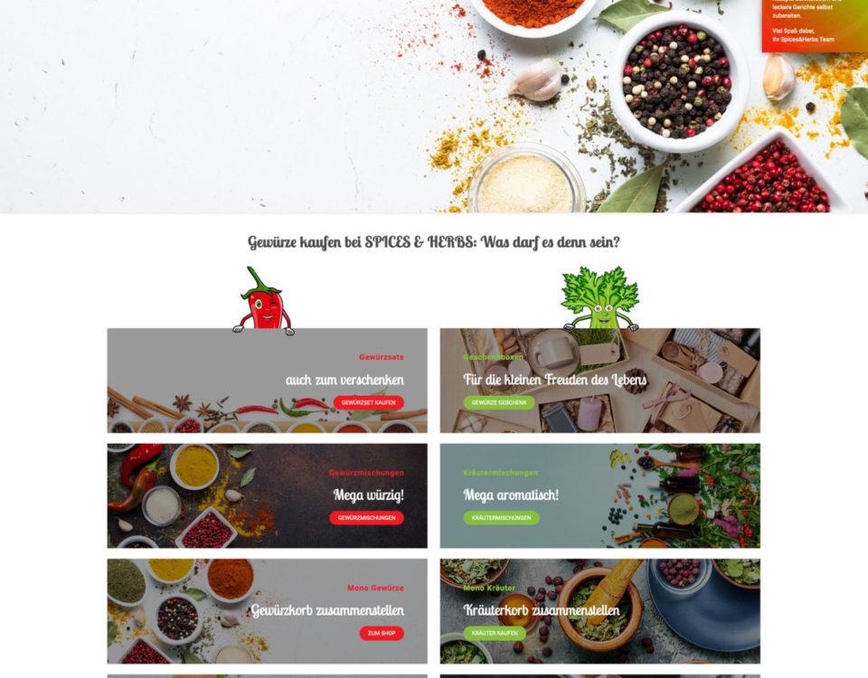 Spices Herbs Online Versandhandel