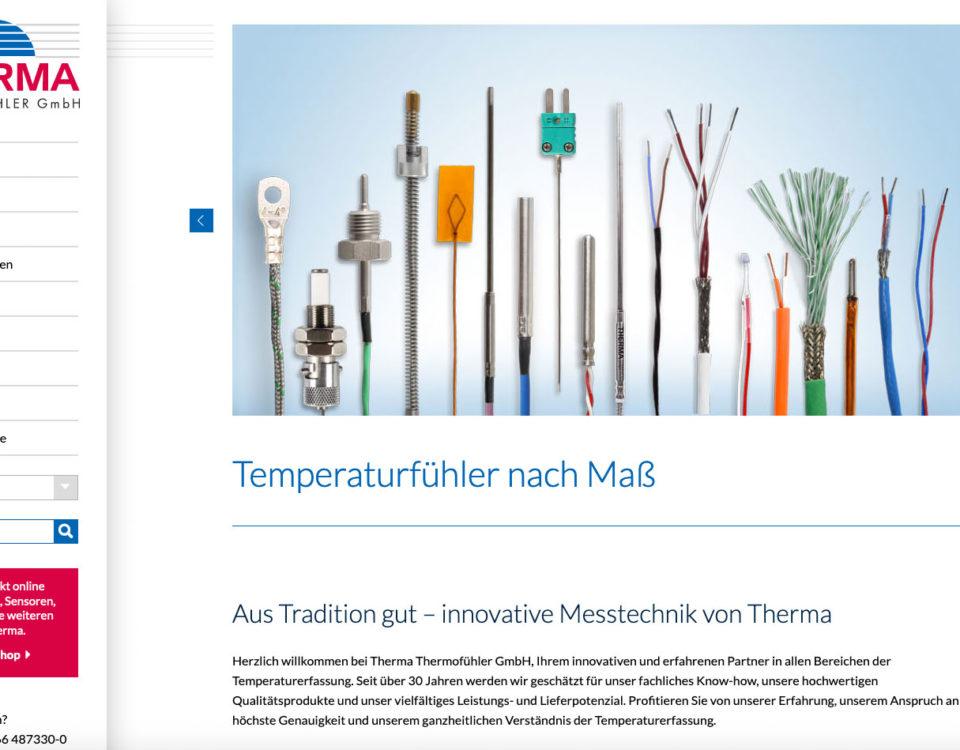Therma Gmbh Thermoelemente Temperaturfuehler Temperatursensor