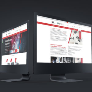 Vector Welding Referenz 1 Webdesign