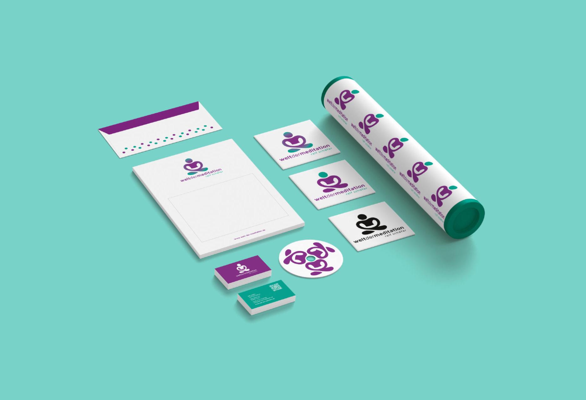 Welt Der Meditation Referenz 5 Print Druck Visitenkarte Cd Umschlag Briefpapier Briefumschlag