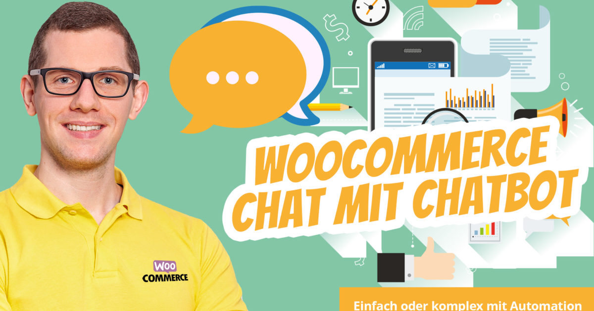 Woocommerce Chat Chatbot Live Chat Einfach Online Marketing Automation