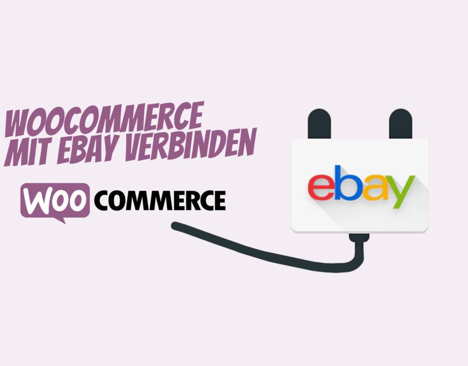 Woocommerce Ebay Plugin Verbinden Connector Loesung
