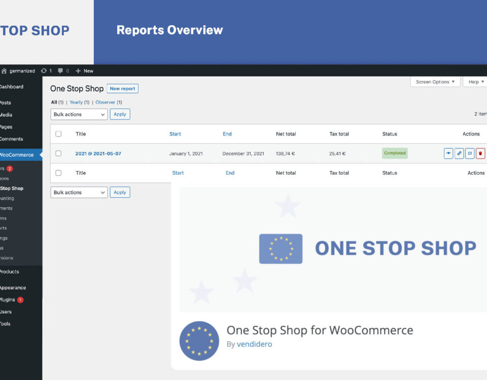Woocommerce One Stop Shop Verfahren Oss Sauber Sicher Umsetzen Plugin