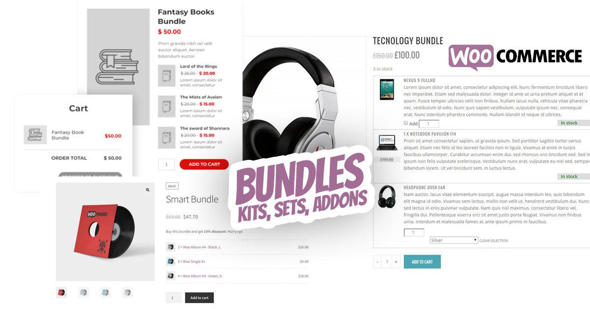 Woocommerce Produkt Bundles Produktpakete Plugin Kits Sets Addons