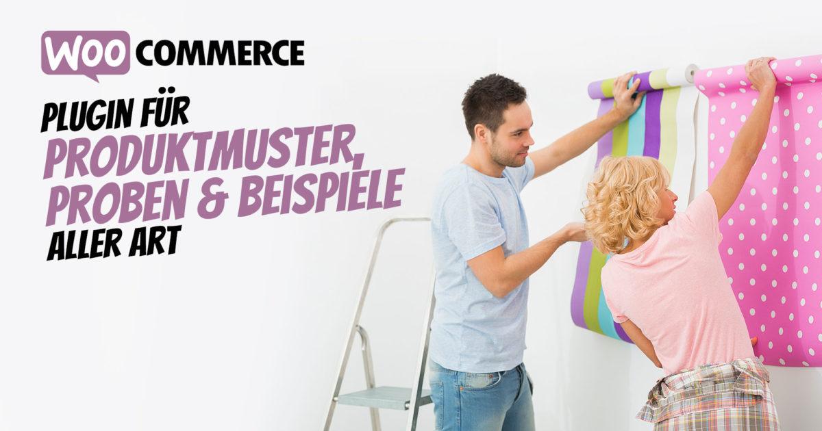 Woocommerce Produktmuster Plugin Muster Beispiele Proben Bestellung Shop