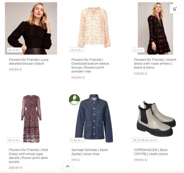 Woocommerce Verfuegbare Groessen Produktuebersicht Anzeigen Varianten Anpassen Kleidung Fashion Konfektionsgroessen