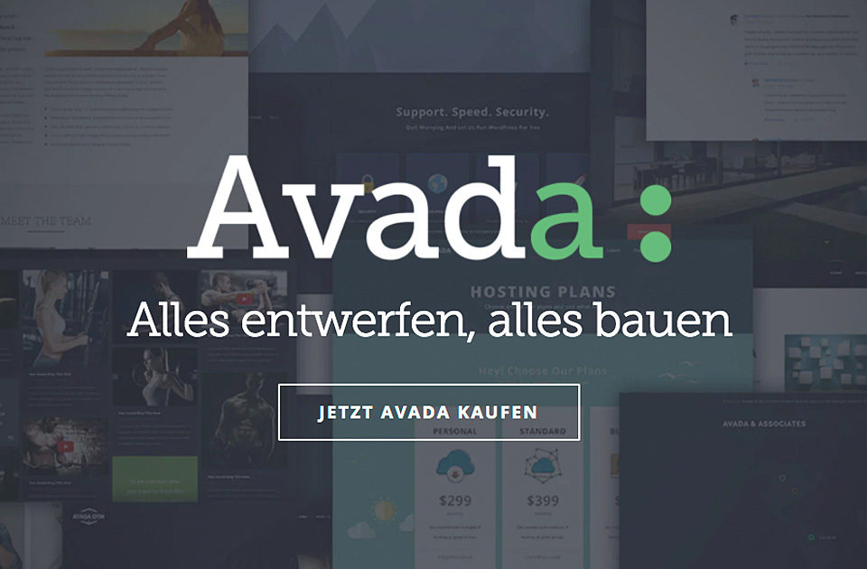 Wordpress Avada Theme Bestseller Template Wp