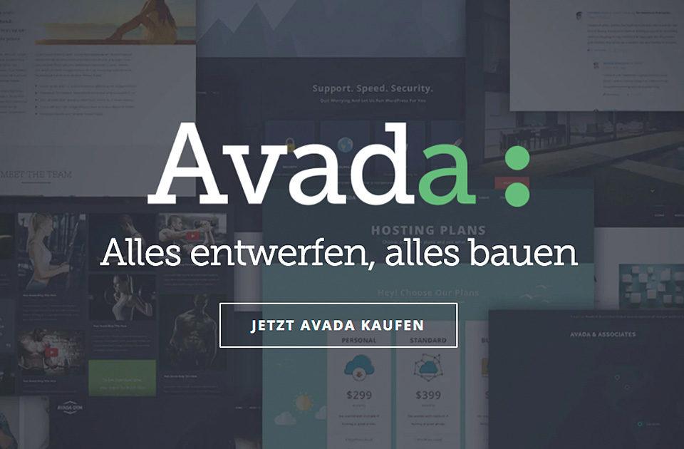 Wordpress Avada Theme Bestseller Template Wp
