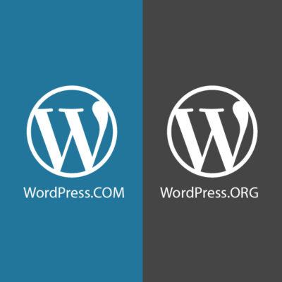 Wordpress Com WordPress Org Logo