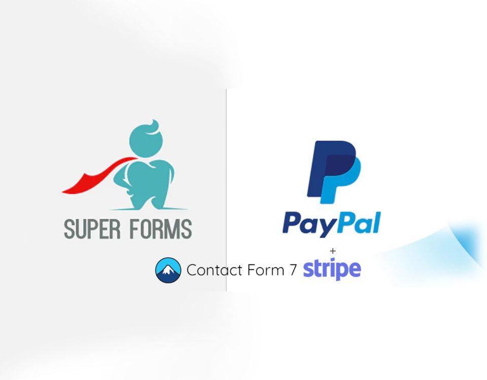 Wordpress Formular Plugin Paypal Integration Flexibler Form Builder Formulareditor