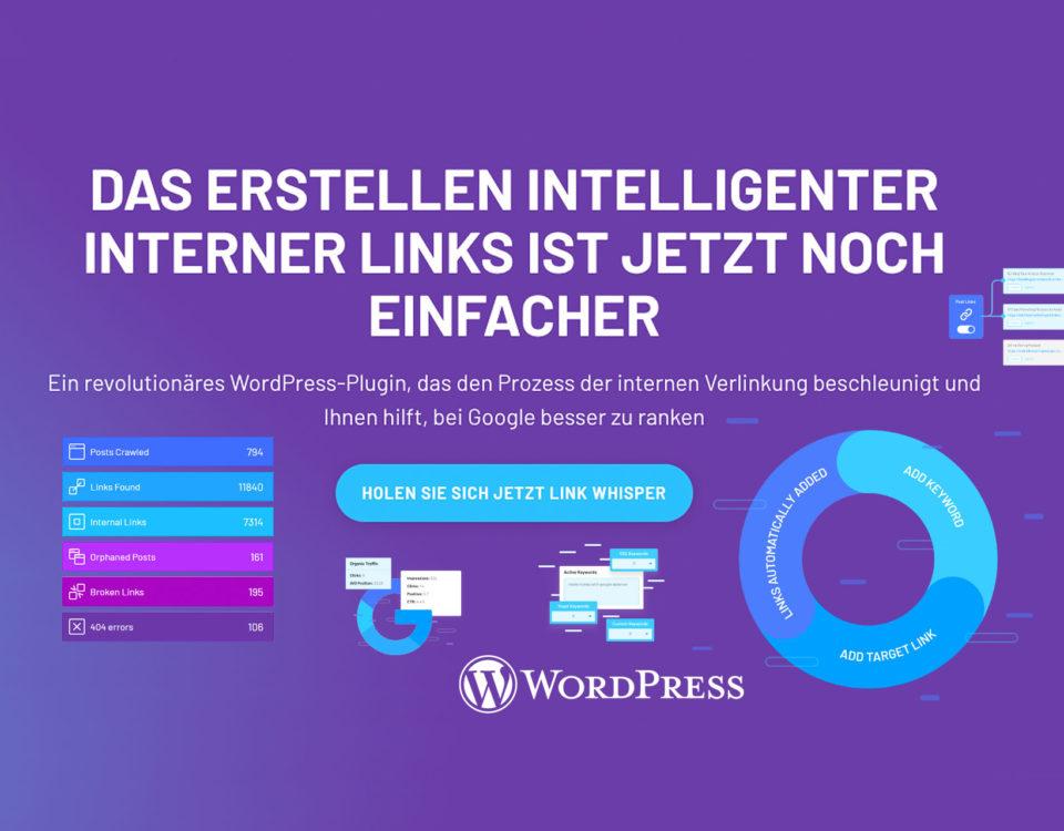Wordpress Interne Links Setzen Interne Verlinkung Plugin Wp Seo Suchmachinenoptimierung